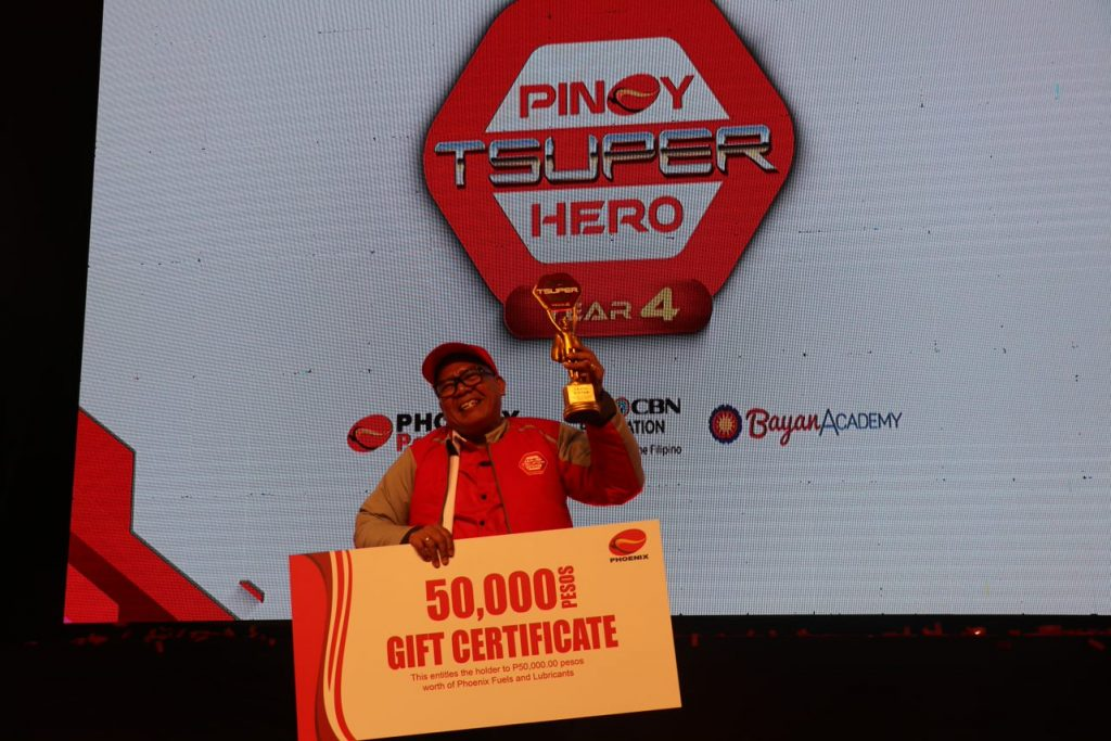 Pinoy Tsuper Hero Year 4 Winner